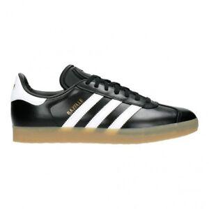 timeless design b33e3 8fff8 Adidas Gazelle Hommes Baskets Cuir Noir UK 9  Achetez sur eB