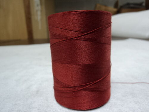 U S MADE-100/% COTTON THREAD-1700YD SPOOL-RUST-1 SPOOL-made in the usa