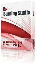 DVD/CD/BluRay Burner Burning Software Copy Backup Edit Create Clone Ripper Suite