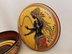 Erato Greek Muse of Lyric Poetry Rare Hellenic Ancient Art Pottery