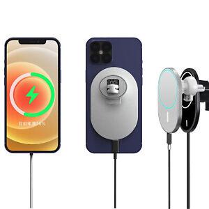 KFZ MagSafe Charger 15W für iPhone 12 Pro/Max/Mini magnetische Auto Halterung