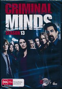 Criminal-Minds-Season-13-Thirteen-DVD-NEW-Region-4