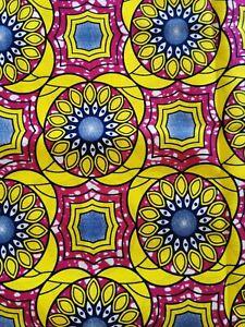 Tissu Wax Africain Ebay