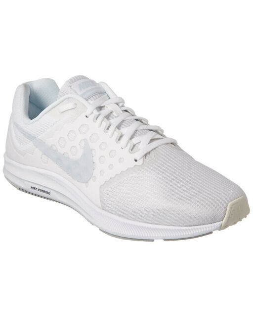 6b8a54becaa49 Nike Downshifter 7 Mens Running Shoes 11 White Pure Platinum 852459 ...
