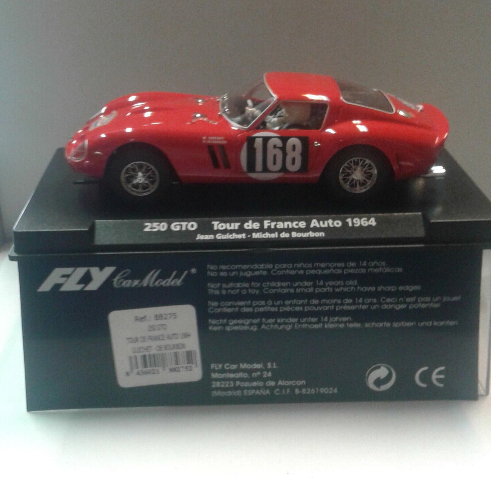 Qq 88275 FLY FERRARI 250 GTO TOUR FRANCE '64 GUICHET - BOURBON