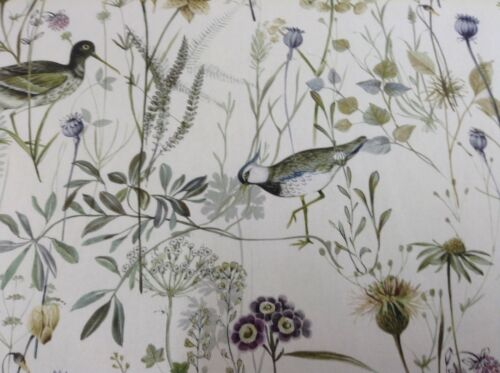 Wetlands Bird Sage Prestigious Textiles  140cm wide Curtain//Craft Fabric