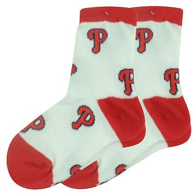 Weitere Ballsportarten Freundlich Mlb Philadelphia Phillies Set Of 2 Kleinkind 9-24 Socken Jungen All Ab Logo Kann Wiederholt Umgeformt Werden.