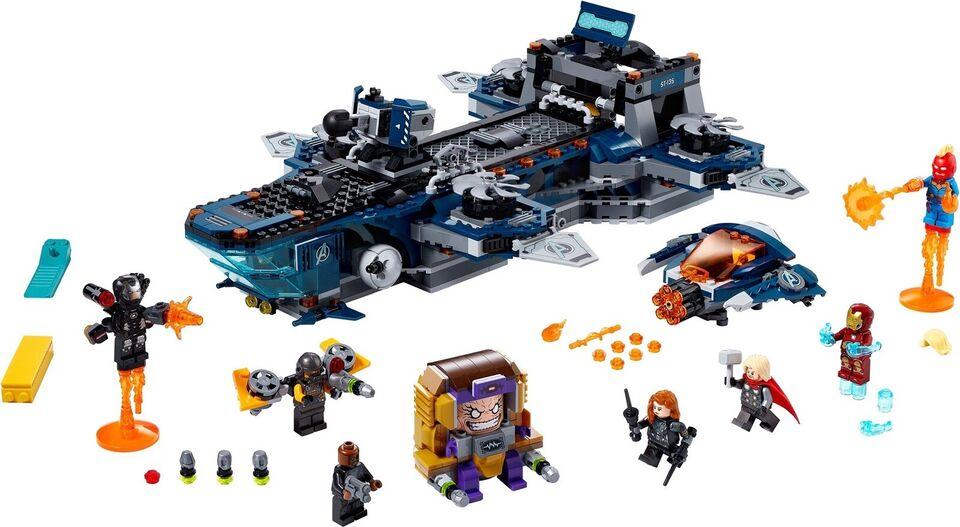 Lego Super heroes, 76153 Avengers Helicarrier UÅBNET