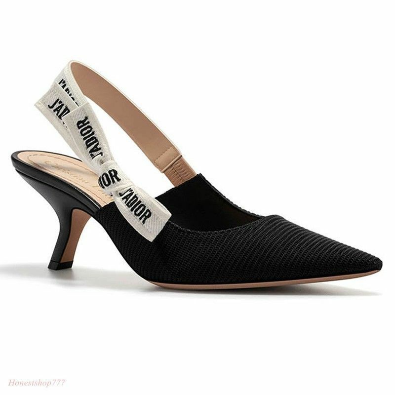 Womens Sexy BowKnot Mules Slingback Pointy Shoes Toe Vogue Slippers Sandals Shoes Pointy fd9171
