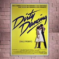 Original Poster Dirty Dancing Balli Proibiti 100x140 CM