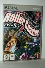 ROLLER COASTER TYCOON 3 GIOCO USATO BUONO MAC DVD VERSIONE INGLESE GD1 42475