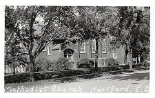 South Dakota SD Postcard c1950 HARTFORD Methodist Church Real Photo RPPC