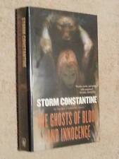 Storm Constantine SIGNED Ghosts of Blood and Innocence USHC 1st Edn