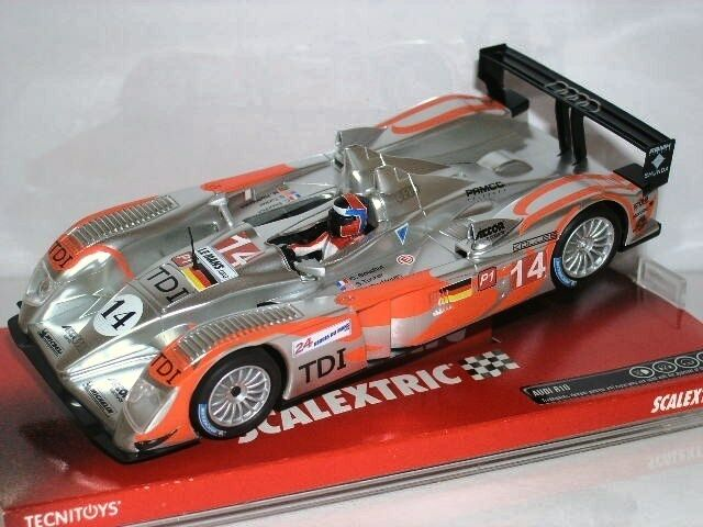 Quelle  a10027s300 audi r10 kolles scalextric tecnitoys 1   32 neue