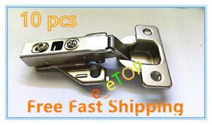 Image Is Loading 10pc Full Overlay Soft Close Cabinet Hinge Hardware