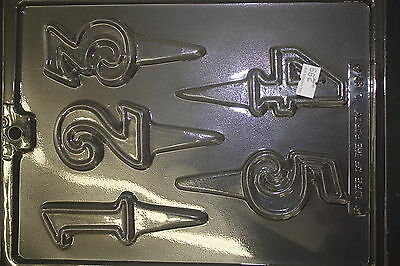 Number pics 1 Chocolate Candy Mold