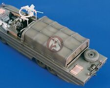 Verlinden 1/35 DUKW Amphibious Truck Canvas Cover WWII (for Italeri) [w/PE] 1910