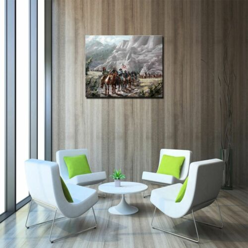"Military Detachment Aid,Art Canvas Print Oil Painting Home Decor 16/""x20/"""