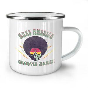 Make America NEW Enamel Tea Mug 10 oz | Wellcoda