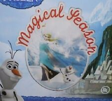 """(7) DISNEY FROZEN CHRISTMAS LIGHT UP 14"""" WINDOW SCULPTURE  MAGICAL SEASON"""
