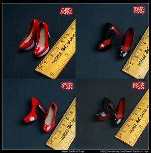 High-heel Shoes sandals Model Accessory For 1//6th Female Phicen TBLeagure Figure