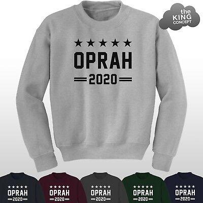 Oprah per Presidente 2020 Felpa Pullover Maglione JH030