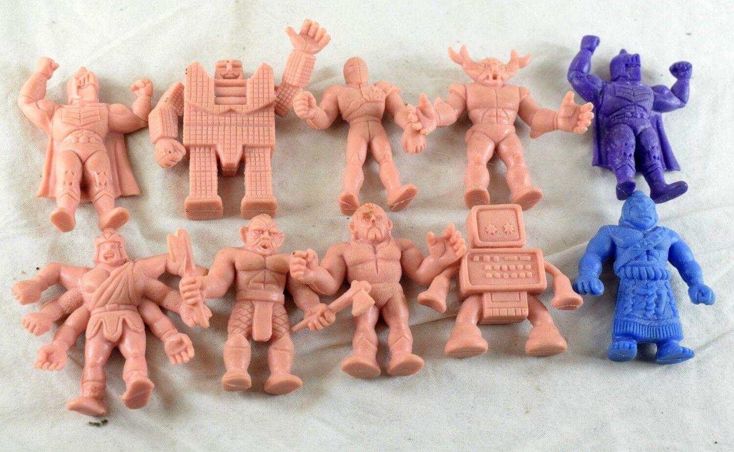 1980's Vintage MUSCLE M.U.S.C.L.E. Men Figures Lot