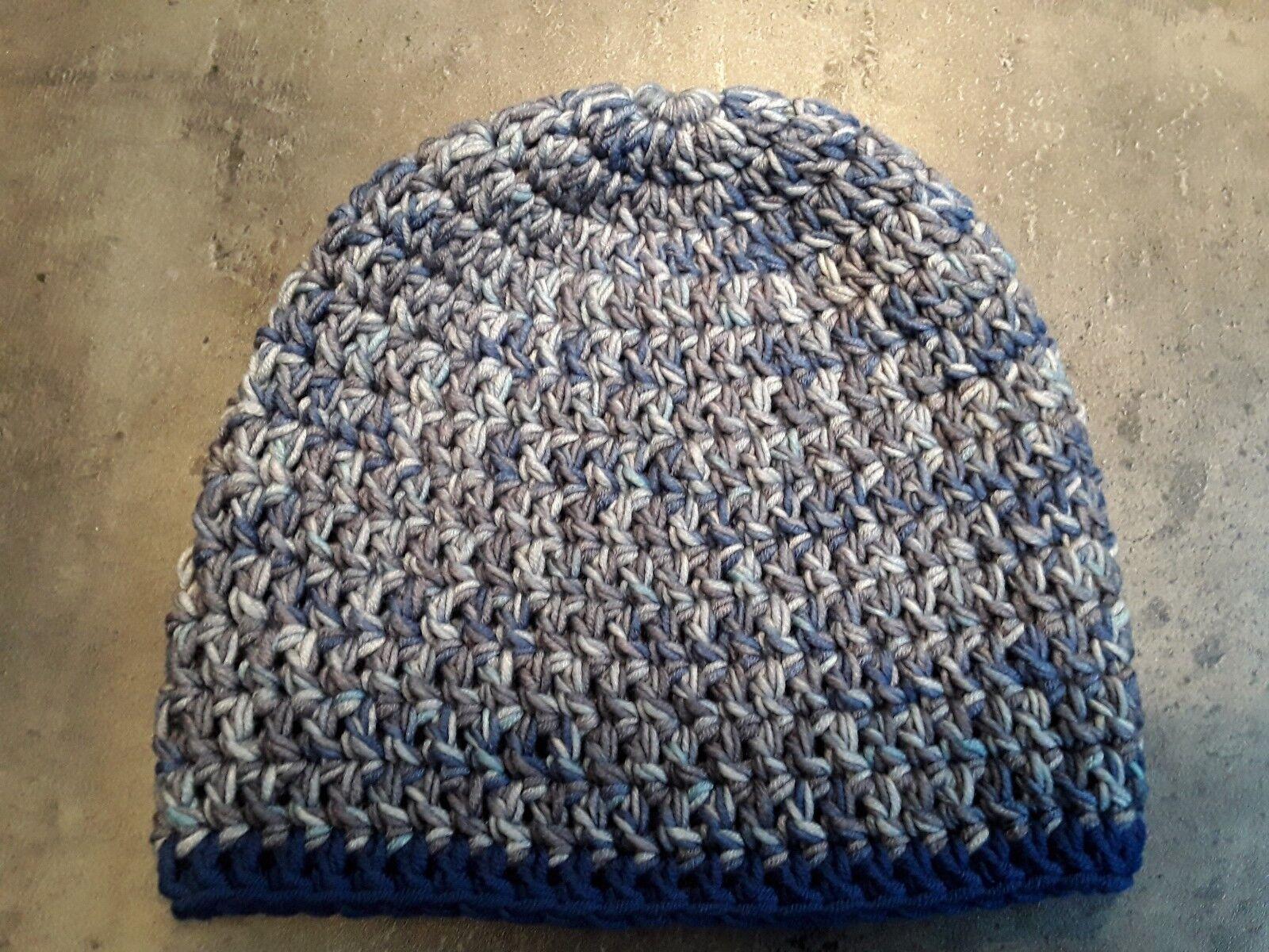 Herren winter mütze in my Boshi mit merino wolle von Lana grossa Gehäkelt