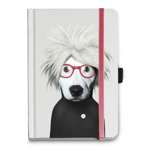 Takkoda Andy Warhol Dog Notebook