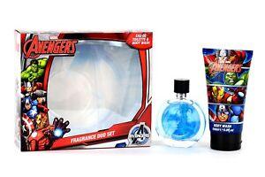 AVENGERS-Box-con-Eau-De-Toilette-e-gel-doccia-bagno-schiuma-originale-Marvel