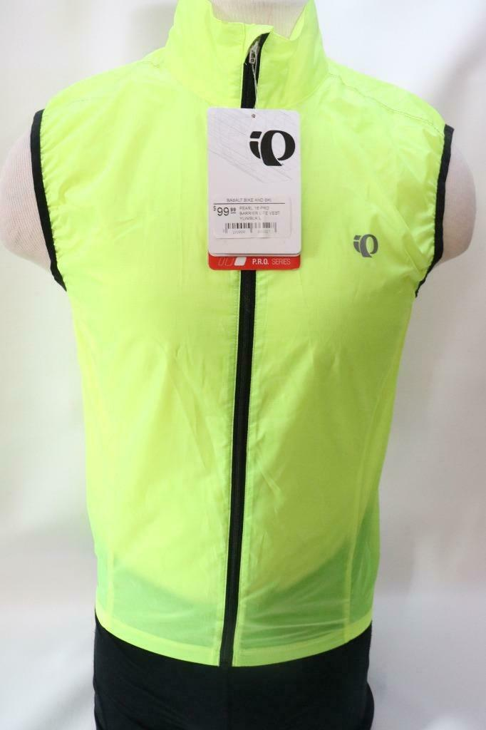 New Pearl Izumi Men's Pro Barrier Lite Vest Small Road Bike Cycling Yellow  100