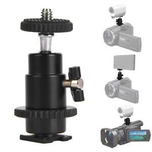 CSM-1-Mini-360-Camera-Camcorder-Tripod-Monopod-Ball-Head-Quick-Release-Plate