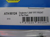 Athearn Parts Stock 90124 Dogbone 1.398 Fp7 Front 6 Per Pack