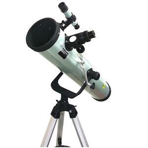 Telescopio-Astronomico-Originale-DynaSun-76700-Completo-di-Lenti-e-Cavalletto