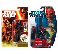 Star Wars Sith Villains Kylo Ren & Darth Maul 3.75 Toy Action Figures, Awakens