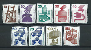 Allemagne-RFA-Lot-9-Tp-Neuf-MNH-1971-73-Prevention-des-accidents-lot-13