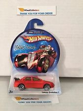 Lancer Evolution 7 * Orange * Hot Wheels Holiday Hot Rods * J4