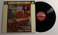 GEORGE MALCOLM Harpsichord Recital LP London Rec CS-6197 US 1961 NM- 00A