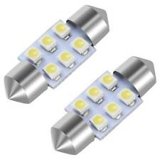 Facibom 2x 31mm 6 SMD 1210 LED Blue Car Festoon Interior Dome C5W 239 Light Lamp Bulb