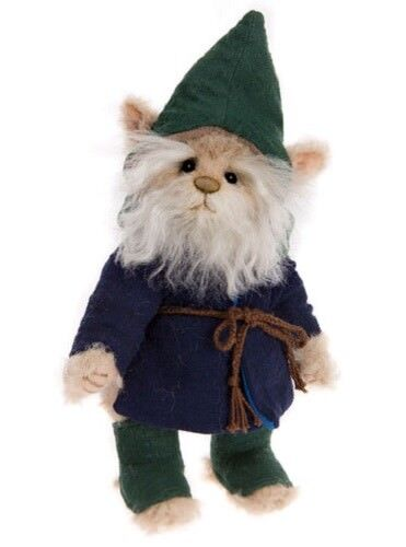 SAVE   Charlie Bears GUMP GNOME 2017 MiniMo by Isabelle Lee MM175614B - NEW