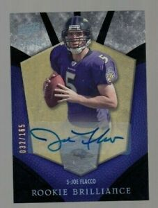 Joe-Flacco-2008-Upper-Deck-Icons-Brilliance-ROOKIE-ON-CARD-AUTOGRAPH-032-165