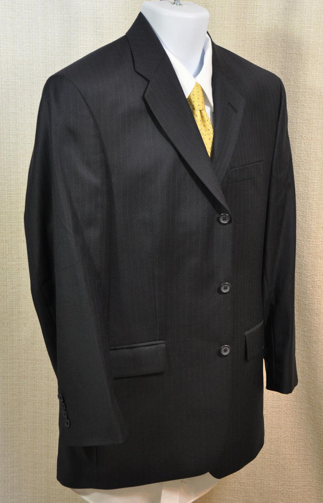 Mint   Alfani (macy's) Men's Suit - bluee Pinstripe - 40R - Excellent