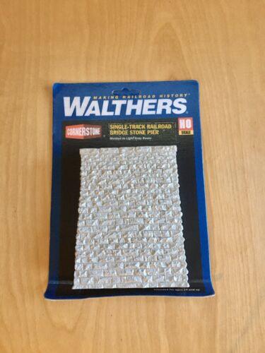 Details about  /Walthers Cornerstone Ho Scale Single-Track Railroad Bridge Stone Pier Gray
