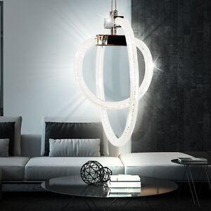 30-W-LED-Ringe-Haenge-Lampe-Decken-Wohn-Ess-Zimmer-Leuchte-DESIGNER-Beleuchtung