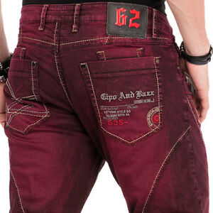 Cipo-amp-Baxx-Sonoma-Mens-Jeans-Denim-cd-479-Straight-Cut-All-Sizes-New
