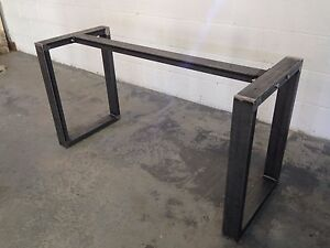 Metal Table Legs Steel Dining Coffee Table Bench Custom Sizes