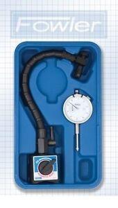 Fowler-Dial-Indicator-Gauge-Flexible-Arm-Magnetic-Base