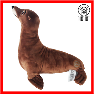Disney-Rudder-The-Sea-Lion-Soft-Toy-Badge-Plush-Stuffed-Doll-from-Finding-Dory