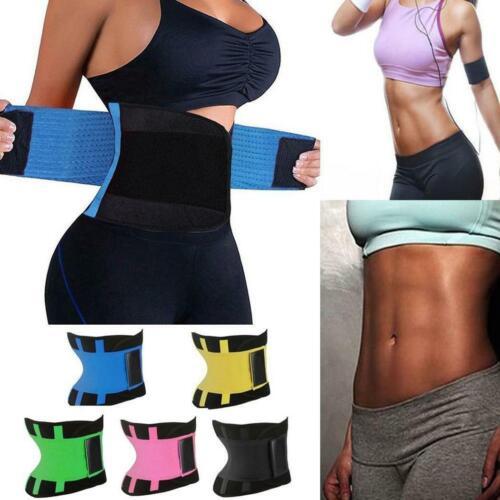 Sport Waist Trainer Weight Loss Men Women Sweat Thermo Wrap Body Shaper Belt Gym