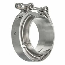 Hfsr Stainless Steel 304 Quick Release V Band Turbo Downpipe Clamp 2inch